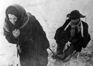 Starving Citizens of Leningrad