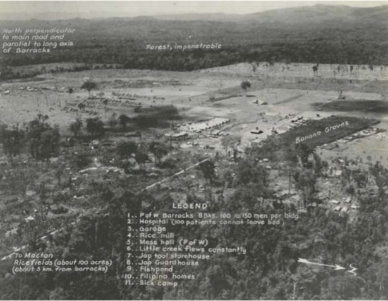 This aerial, retouched photograph provides a bird's-eye view of the Davao Penal Colony. Credit: Kyle Richards