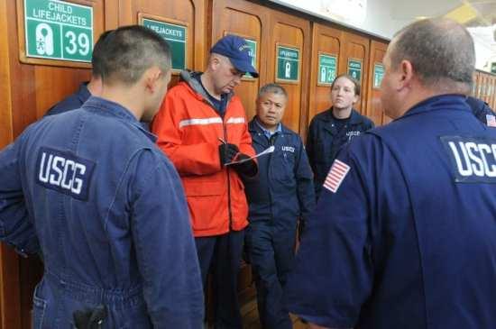 Coast Guard inspectors