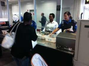 TSA Small Knives Airport Screening