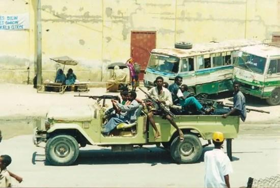Mogadishu technical UNOSOM II mission