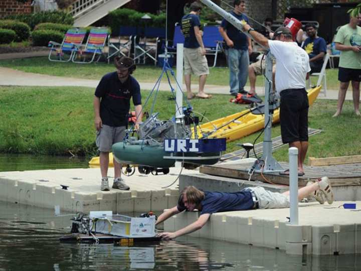 RoboBoat competition 2012