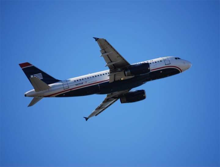 US Airways Airbus takeoff