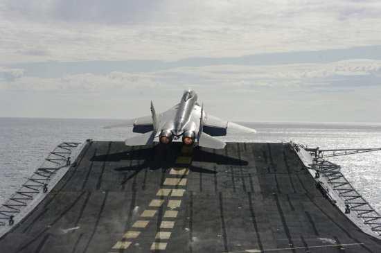 MiG-29KUB launch