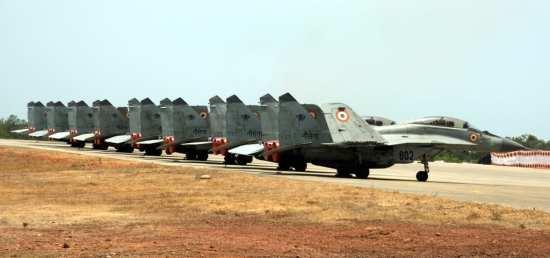 MiG line up