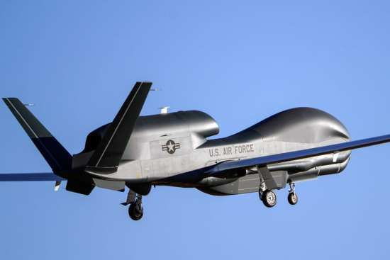 Northrop Grumman Unmanned Aircraft Systems Achieve 100,000 Flight Hours l Photos