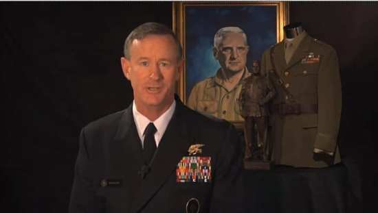 Adm. William H. McRaven Documentary From OSS Society William J. Donovan Award Dinner