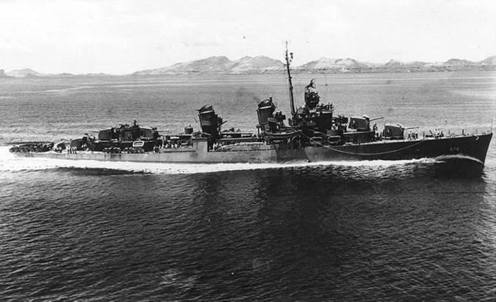 USS Charles Ausburne (DD 570)