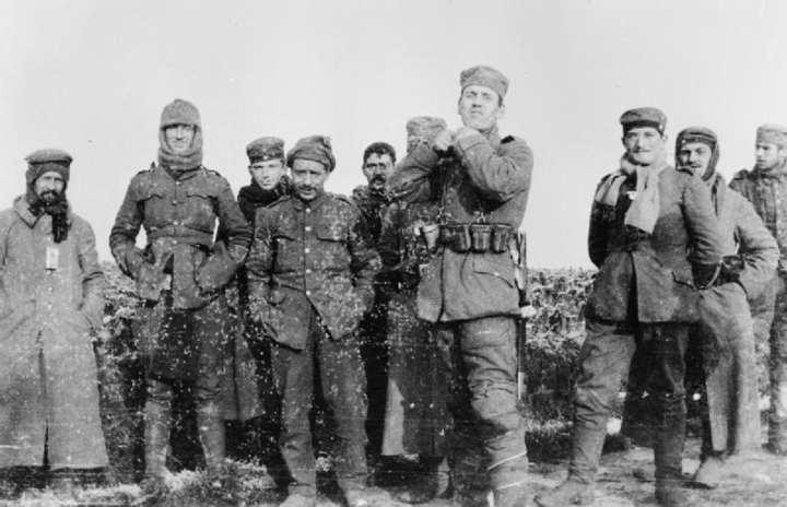 Christmas Truce 1914 IWM