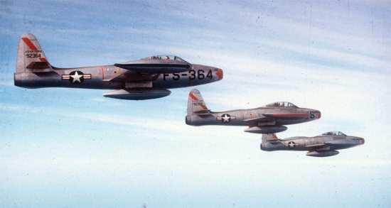 F-84 Thunderjets