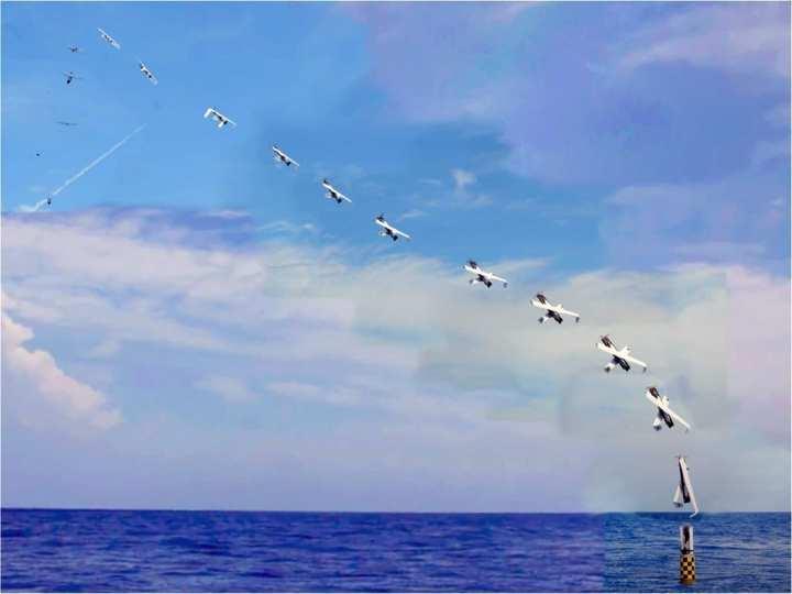 UAS Submerged Submarine Launch