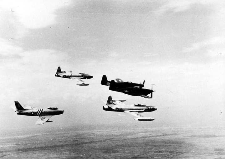 Korean War Group Flight