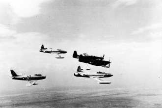Korean War Group Flight