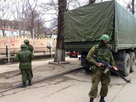 Ukraine, Crimea unidentified soldiers