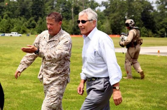 Secretary of Defense Chuck Hagel