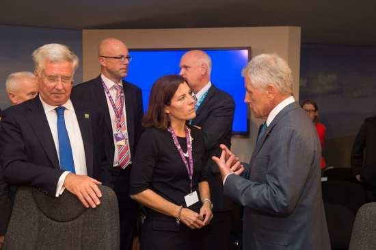 NATO defense ministers secrs