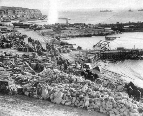 W Beach Gallipoli