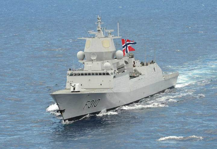 Nansen port bow