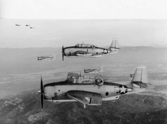 TBM-3s at war