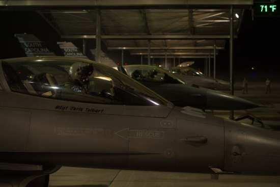 South Carolina ANG F-16s