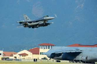 F-16 deploys for Turkey