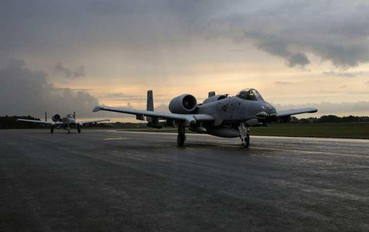 A-10s arrive in Estonia