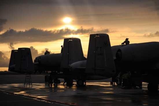 A-10s post flight