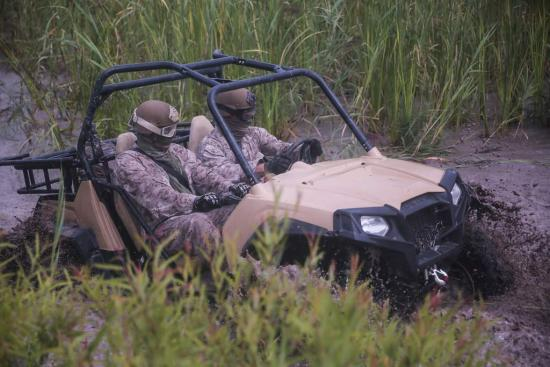 "Marines Train on MRZR ""Razors"" 