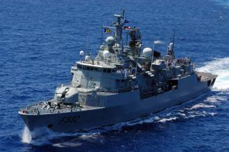 Portuguese navy frigate