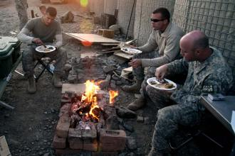 Thanksgiving U.S. Army Afghanistan