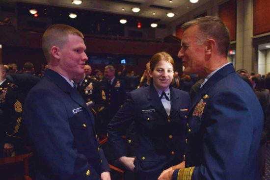 Commandant Adm. Paul Zukunft thank yous