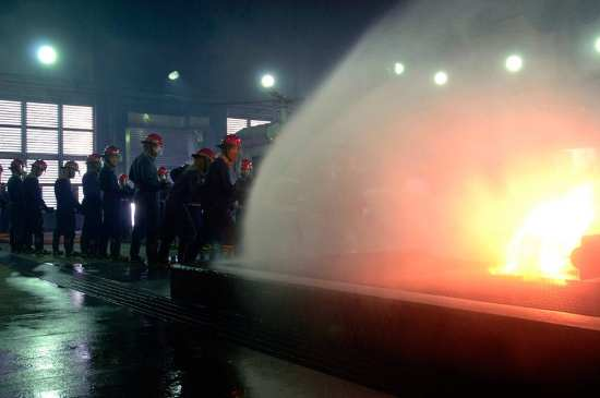 damage control firefighting-training