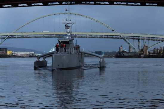 DARPA's ASW Sea Hunter Testing | Video