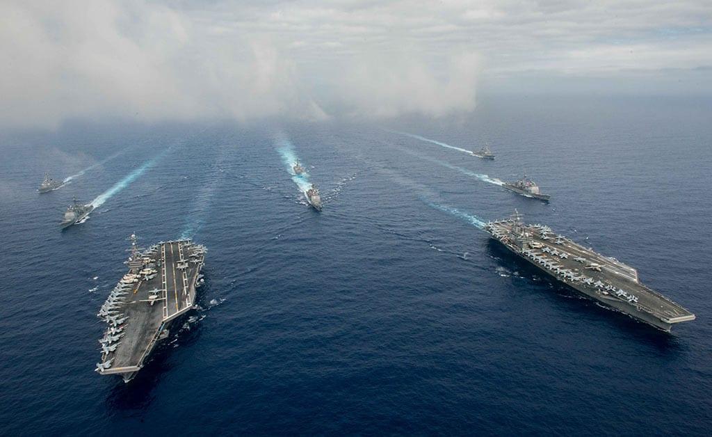 Reagan-Stennis Carrier Strike Groups