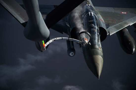 Aerial Refueling: French Mirage 2000Ds | Video