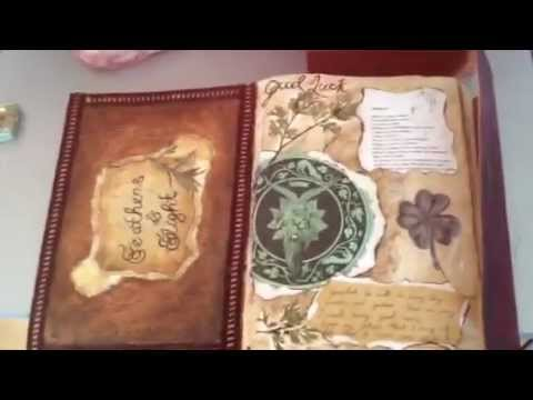 003 - Witchcraft, Pagan & Wiccan: How To Make A Practical Magic Style Book Of Shadows