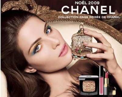 Chanel: maquillaje para Nochevieja 2009