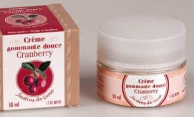 Exfoliante Bio, de arándanos rojos
