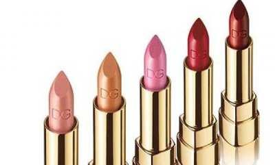 Las barras de labios de Dolce & Gabanna