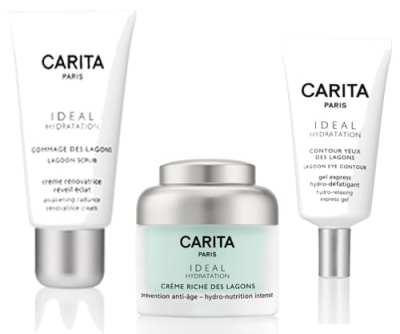 CARITA lanza tres nuevos productos de la línea Ideal Hydratation