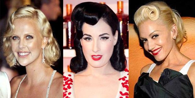 retro Peinados que se llevarán esta Primavera Verano 2012
