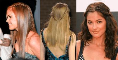 Cómo hacerte una trenza con pelo suelto (II)