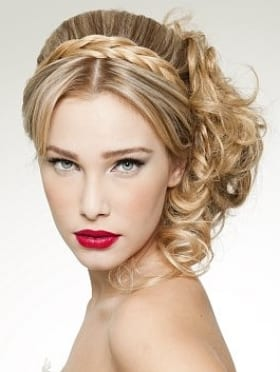 romantic-hairstyle-for-prom