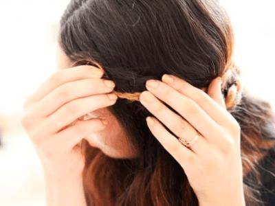 Cómo hacer una trenza romántica de lo más sencilla