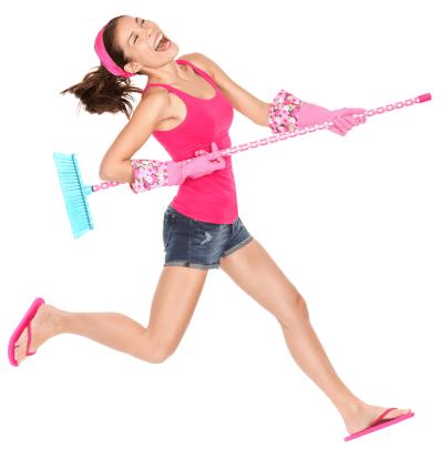 Cómo perder peso limpiando
