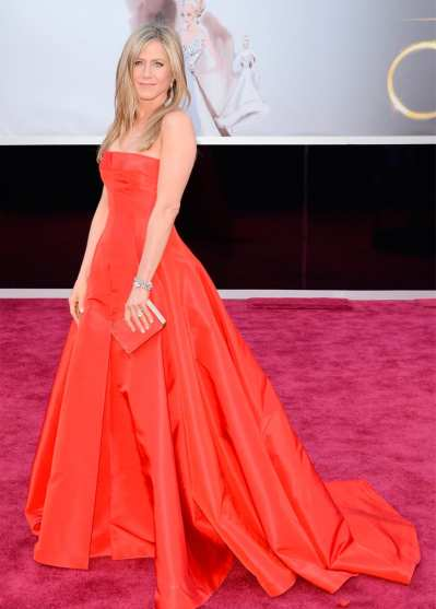 Oscar 2013: El look de Jennifer Aniston