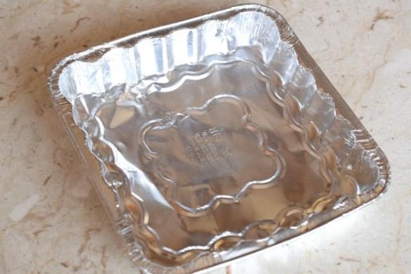 ALUMINUM PAN for Gold plates