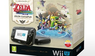 Pack de Wii U + Zelda: The Wind Waker HD por 299€