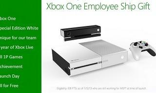 Xbox One tendrá un modelo en blanco… para los trabajadores de Microsoft