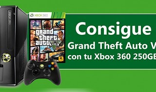 Habrá pack de Xbox 360 + GTA V